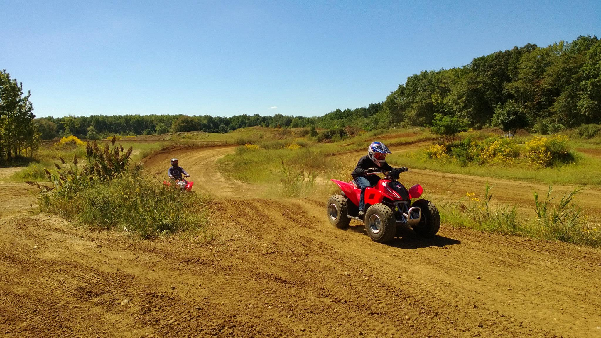 NJ ATV Rentals is a division of Motovation which has been in operation since We are proud to offer our services at the famous at Raceway Park. We offer ATV rentals to riders ages 8 and up. Our ATV's are of the latest models and are very easy to control with .